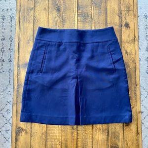 Loft A Line Skirt w Front Pleat & Pockets size 4